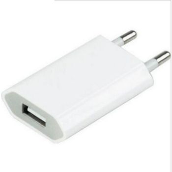 Shot Case USB Prise Murale 1 Port (BLANC)