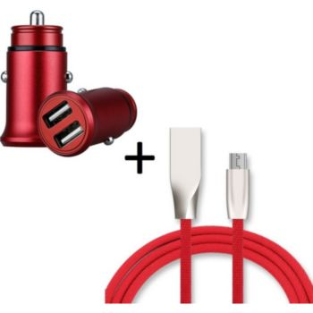 Shot Case Pack Fast Charge Micro USB ROUGE