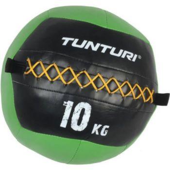 . Balle murale wallball crossfit 10kg vert