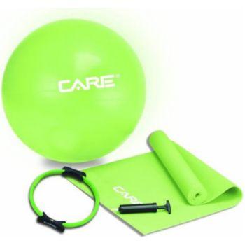 . Kit Pilates ballon tapis anneau pompe