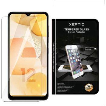 Xeptio Samsung Galaxy A12 verre trempé