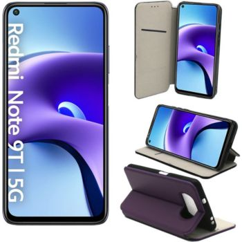 Xeptio Xiaomi Redmi Note 9T 5G Etui violet