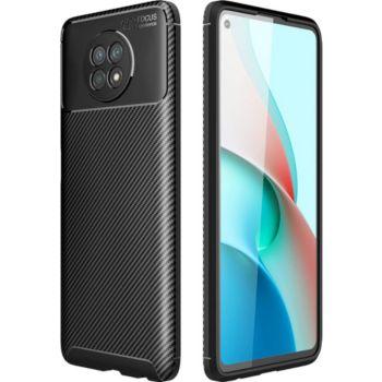 Xeptio Xiaomi Redmi Note 9T 5G New carbone