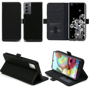Xeptio Samsung Galaxy S21 5G Etui noir