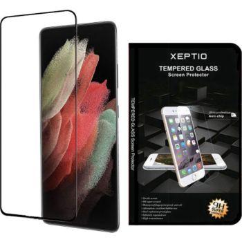 Xeptio Samsung Galaxy S21 5G vitre noir