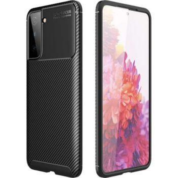Xeptio Samsung Galaxy S21 PLUS New carbone