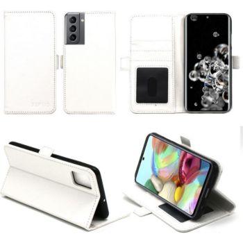 Xeptio Samsung Galaxy S21+ 5G Etui blanc