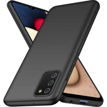 Xeptio Samsung Galaxy A02S tpu noir
