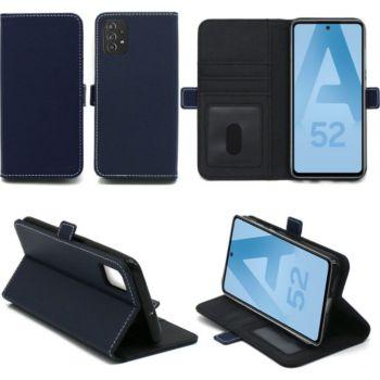 Xeptio Samsung Galaxy A52 4G Etui bleu