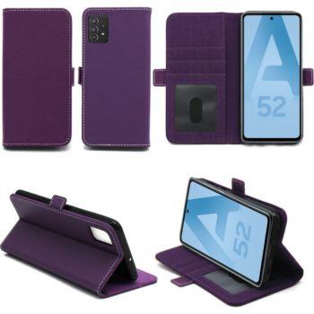 Xeptio Samsung Galaxy A52 5G Etui violet