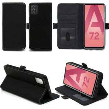 Xeptio Samsung Galaxy A72 Etui noir