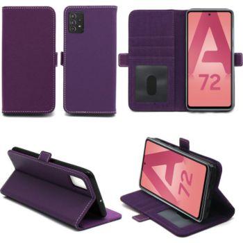 Xeptio Samsung Galaxy A72 Etui violet