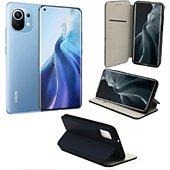 Housse Xeptio Xiaomi Mi 11 5G Etui bleu