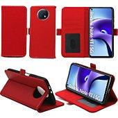 Housse Xeptio Xiaomi Redmi Note 9T 5G Etui rouge