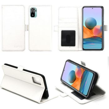 Xeptio Xiaomi Redmi Note 10 Etui blanc