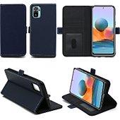 Housse Xeptio Xiaomi Redmi Note 10 Etui bleu