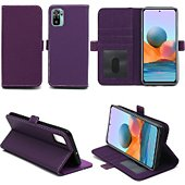 Housse Xeptio Xiaomi Redmi Note 10 Etui violet
