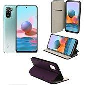 Housse Xeptio Xiaomi Redmi Note 10 housse violette