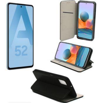 Xeptio Samsung Galaxy A52 4G housse noire