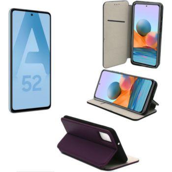 Xeptio Samsung Galaxy A52 4G housse violette