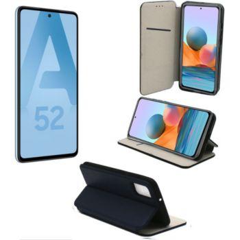 Xeptio Samsung Galaxy A52 5G housse bleue