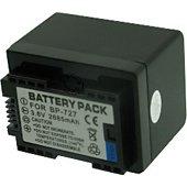 Batterie camescope Otech pour CANON LEGRIA HF R806