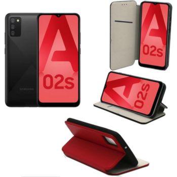 Xeptio Samsung Galaxy A02S Etui rouge