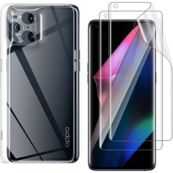 Xeptio OPPO Find X3 Pro 5G gel tpu et vitre