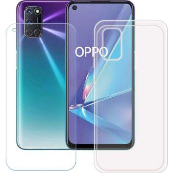 Xeptio OPPO A74 5G gel tpu et vitre