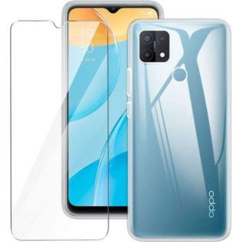 Xeptio Oppo A15 4G gel tpu et vitre