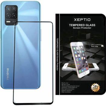 Xeptio Oppo Realme 8 5G vitre noir