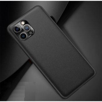 Shot Case Simili Cuir IPHONE 11 Pro Max Fine NOIR