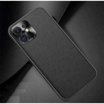 Shot Case Simili Cuir IPHONE 12 Mini Fine NOIR