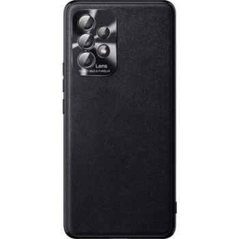 Shot Case Simili Cuir SAMSUNG Galaxy A52 Fine NOIR