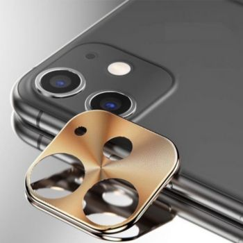 Shot Case Protège Cameras Metal IPHONE 11 OR
