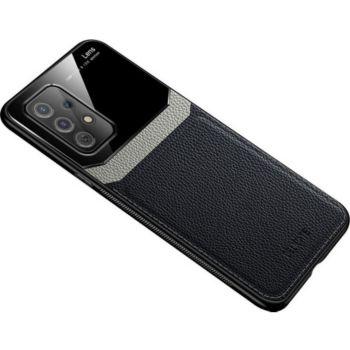 Shot Case Effet Cuir SAMSUNG Galaxy A72 NOIR