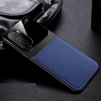 Shot Case Effet Cuir HUAWEI P50 Pro+ BLEU