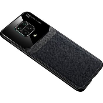 Shot Case Effet Cuir XIAOMI Redmi Note 9S NOIR