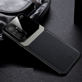 Shot Case Cuir XIAOMI Redmi Note 10 Pro Max NOIR