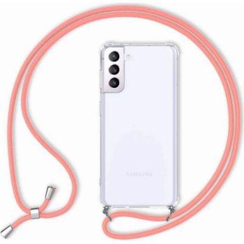 Shot Case Coque Cordon SAMSUNG Galaxy S21+ ROSE