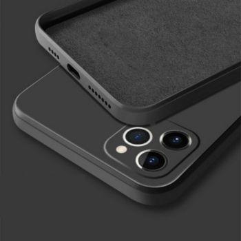 Shot Case Silicone Mat IPHONE 12 Ultra Fine NOIR