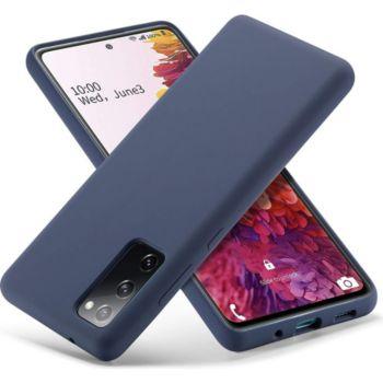 Shot Case Mat SAMSUNG Galaxy A02s Ultra Fine BLEU