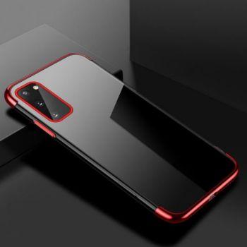 Shot Case Bord SAMSUNG Galaxy A42 Fine ROUGE