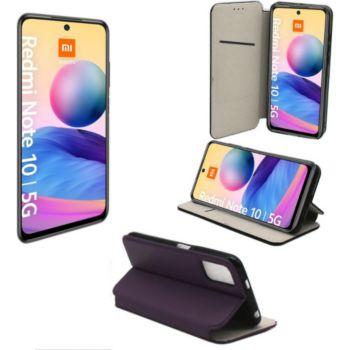 Xeptio Xiaomi Redmi Note 10 5G housse violette