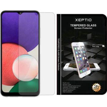Xeptio Samsung Galaxy A22 5G verre trempé