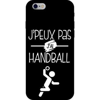 Lookmykase Coque j'peux pas j'ai handball  iPhone 6