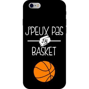 Lookmykase Coque j'peux pas j'ai basket  iPhone 5S