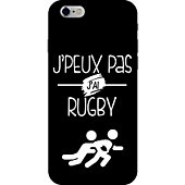 Coque Lookmykase Coque j'peux pas j'ai rugby  iPhone 5