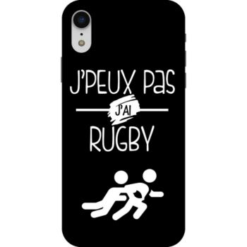 Lookmykase Coque j'peux pas j'ai rugby  iPhone Xr