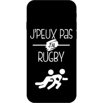 Lookmykase Coque j'peux pas j'ai rugby  iPhone 7